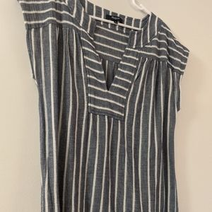 Madewell Striped Cover Up